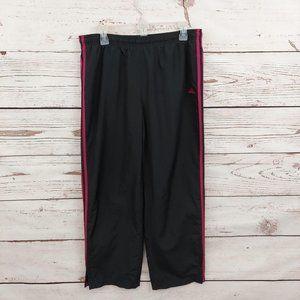 Adidas Ankle Zip Active Track Pants Black/Pink L
